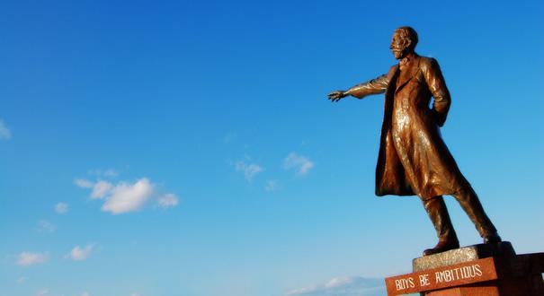羊ヶ丘展望台のクラーク博士像